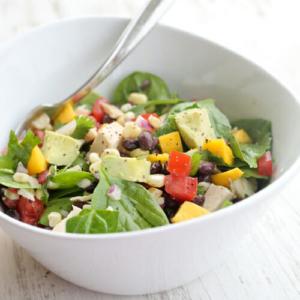 Black Bean and Mango Salad Jars