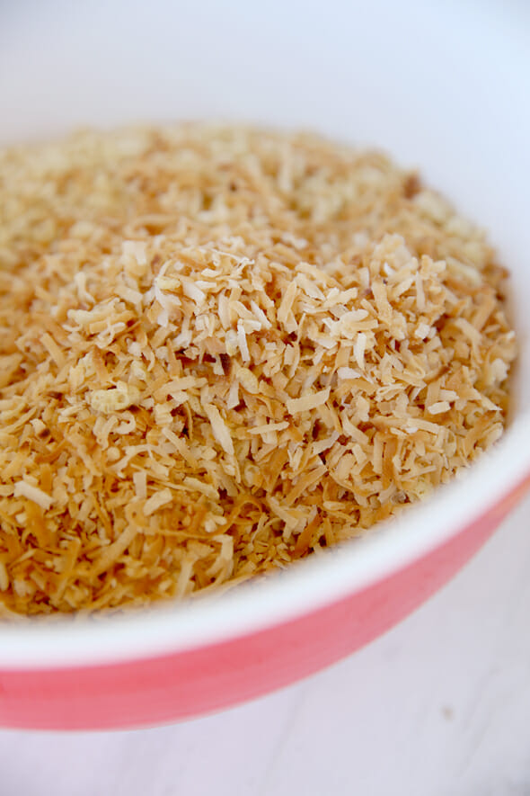 Toasted Coconut with Rice Krispies