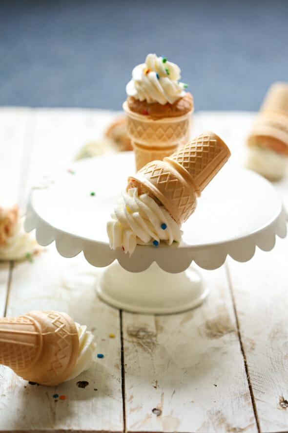 confetti cupcake cones-9
