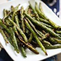 Crispy Roasted Green Beans