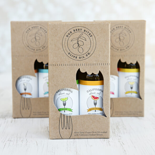 Olive Oil Gift Boxes