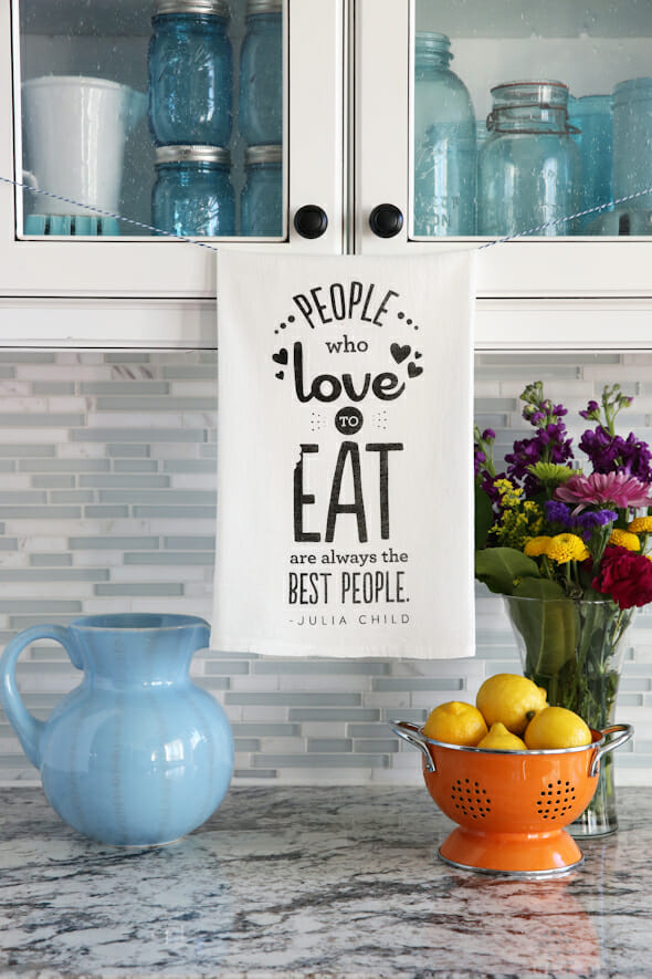 Tea Towel_People who Love to Eat