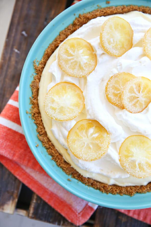 Lemon Topped Cream Pie