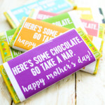 Mother's Day Chocolate Bar Printable (Plus Teacher Appreciation!)