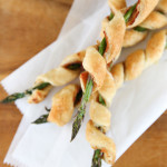 Pastry Wrapped Asparagus with Prosciutto