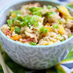 Hawaiian Fried Breakfast Rice