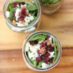 Chicken Bacon Salad Jars