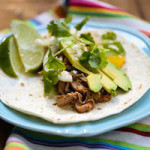 Sweet and Smoky Crock Pot Pork Tacos