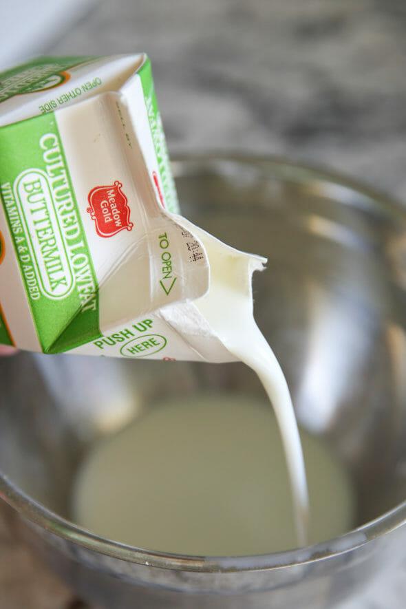 Buttermilk Ice Cream Batter