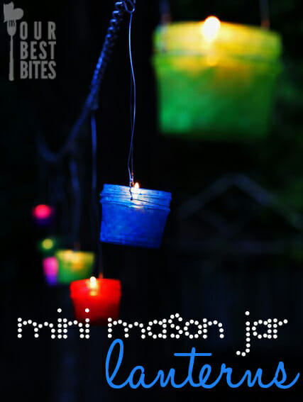 DIY Mason Jar Lanterns from Our Best Bites