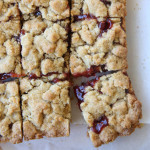 Raspberry-Almond Cookie Bars