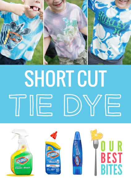 Short-Cut Tie Die from Our Best Bites