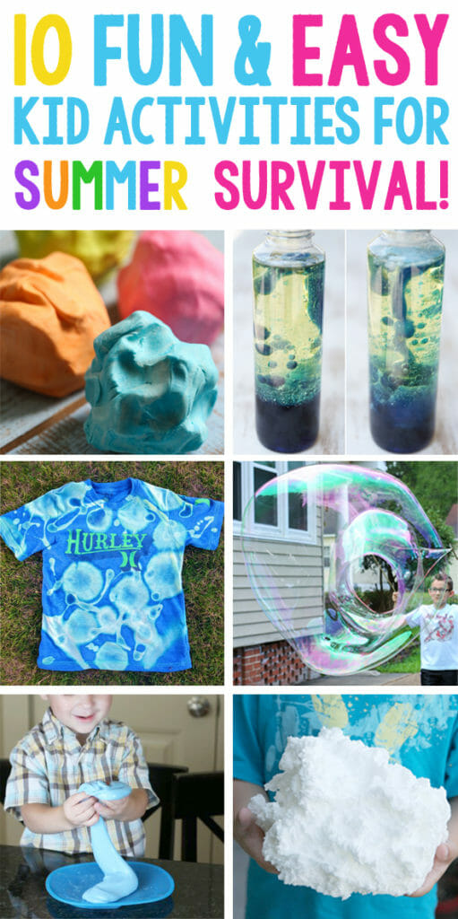 Ten Easy and Fun Activities for Kids This Summer