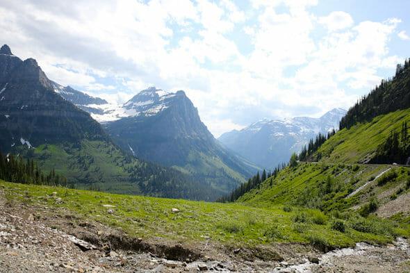 Logan's Pass Glacier Park