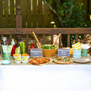 Throwing a Mocktail and Pizza Party