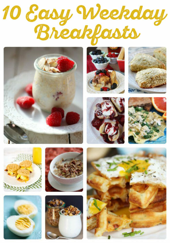 10 easy weekday breakfasts