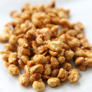 Quick Candied Nuts