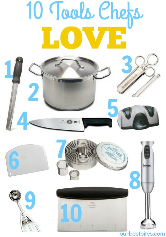 10 Kitchen Tools Chefs Love | Top Ten Kitchen Tools | Our ...
