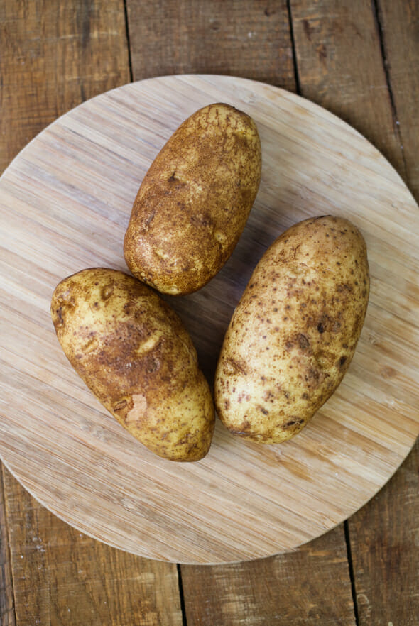 crock pot baked potatoes