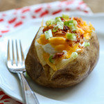 How to Make Crockpot Baked Potatoes