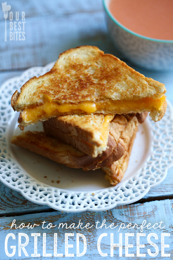 How to make the perfect Grilled Cheese Sandwich from Our Best Bites