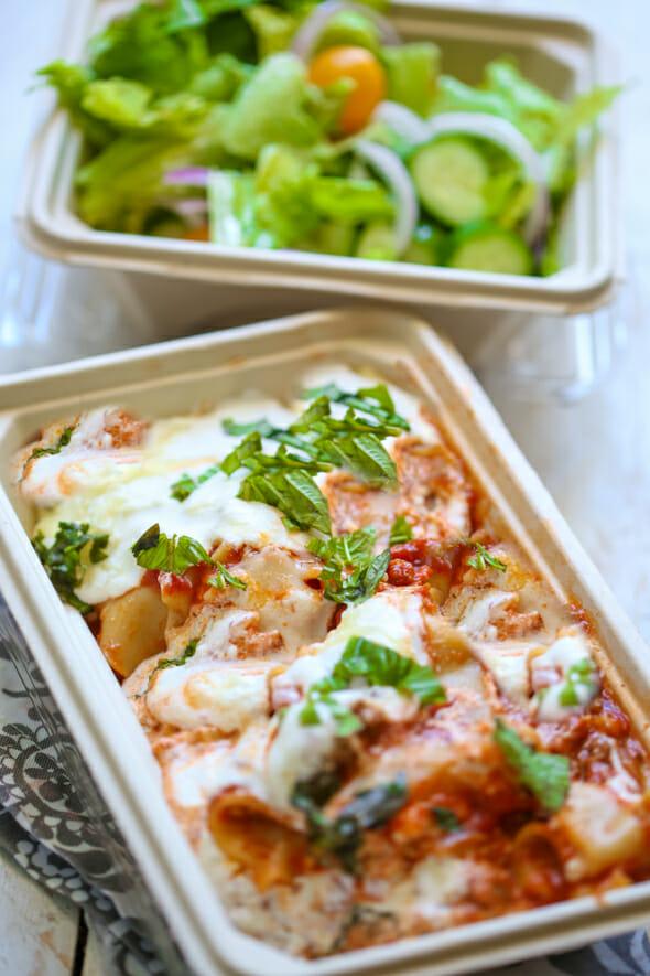 skillet lasagna-10