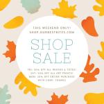 Thanksgiving Shop Sale!