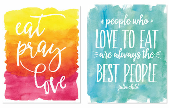 Watercolor Prints