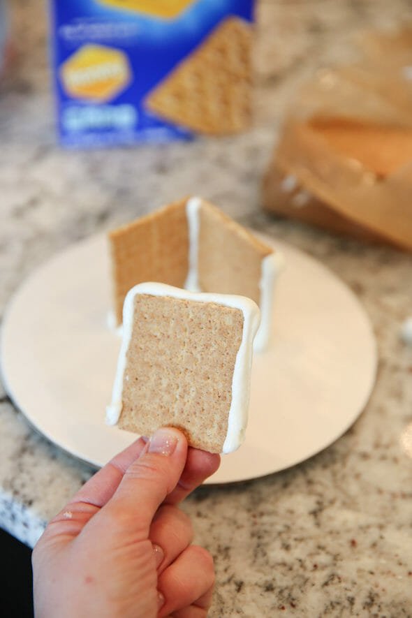 Graham Cracker Houses