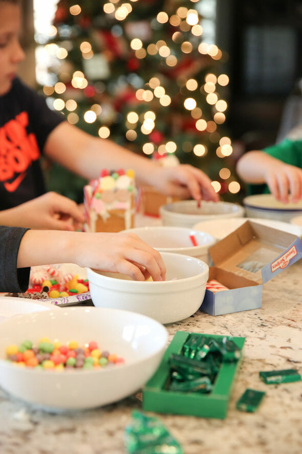 Kids Gingerbread houses