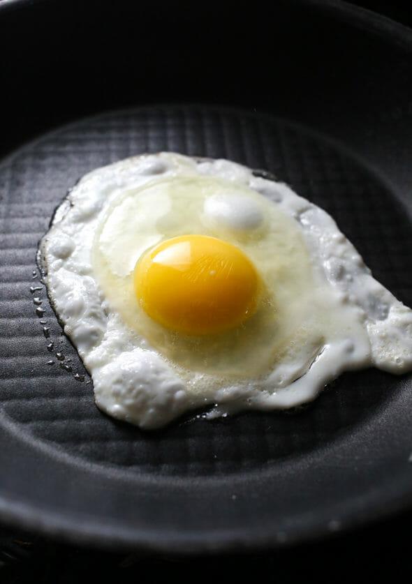 Fried Egg Avocado Toast-5