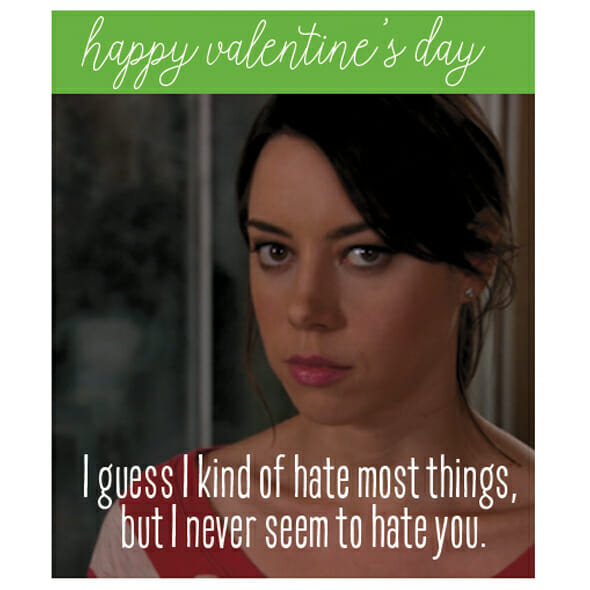 Parks & Recreation Valentines