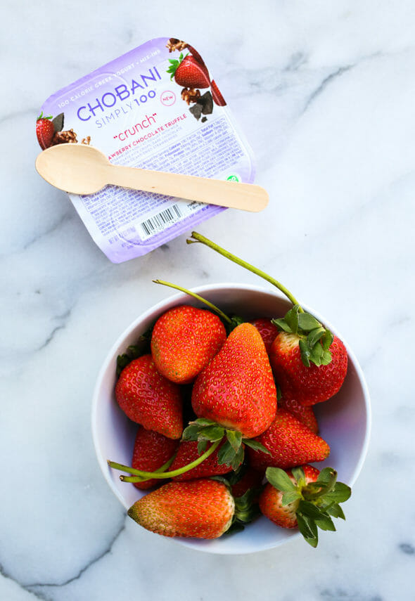 Strawberry Chocolate Truffle Chobani Flip