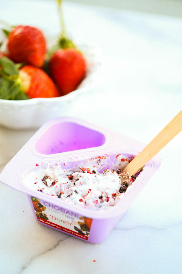 Chobani Strawberry Chocolate Truffle
