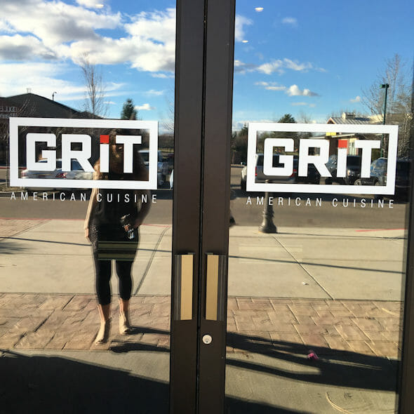 front doors at Grit
