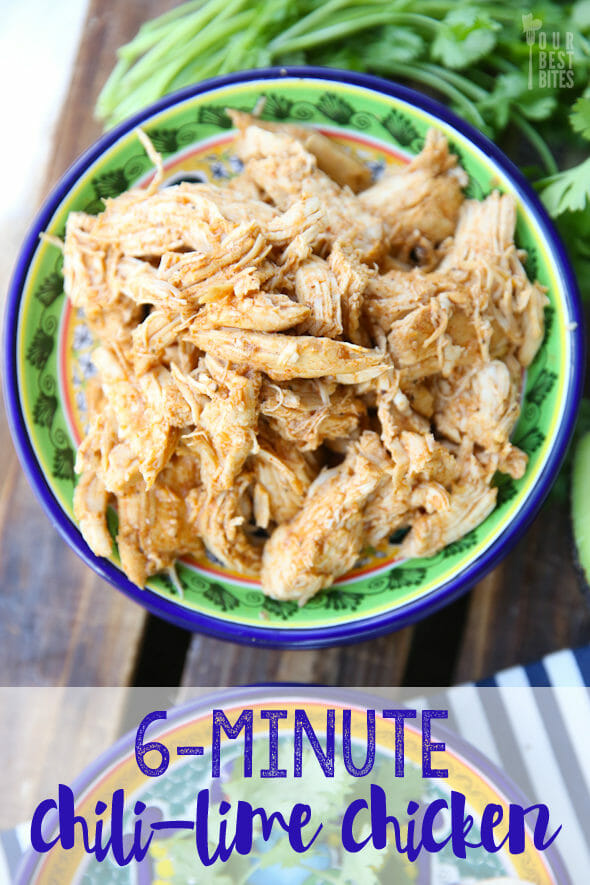 Pressure Cooker Chili Lime Chicken Our Best Bites