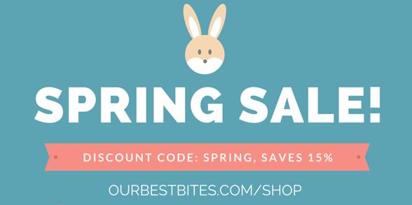 Spring Olive Oil Sale