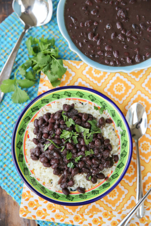 the best brazilian black beans and rice