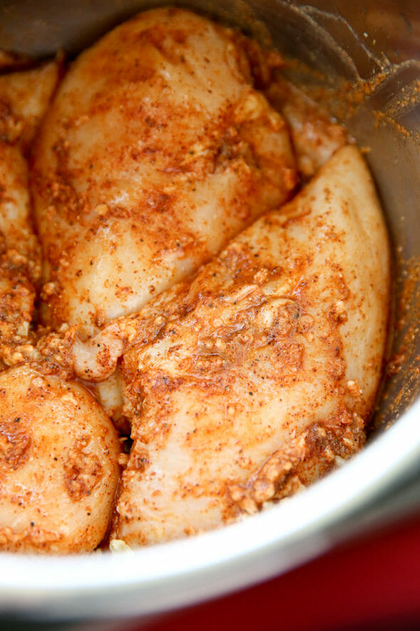 Chili Lime Pressure Cooker Chicken