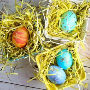 Easy Egg Decorating