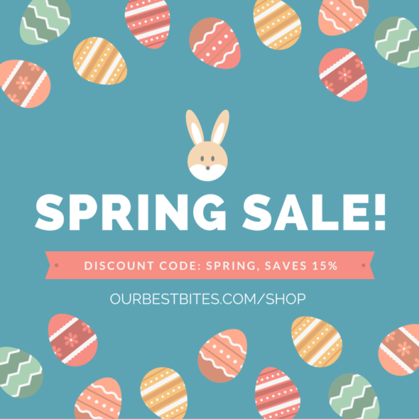 spring sale graphic