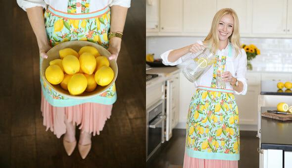 Lemonade Apron