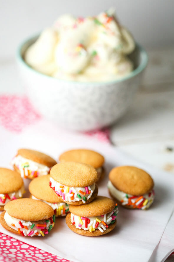 Cake Batter Frosting from Our Best Bites