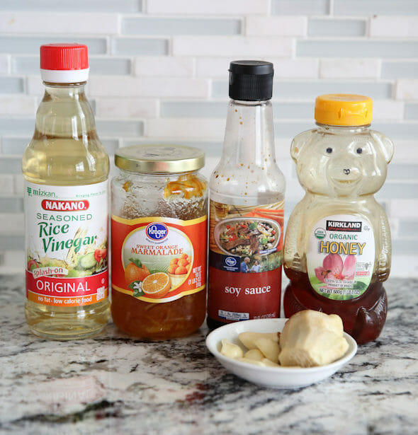 Orange Ginger Chicken Ingredients