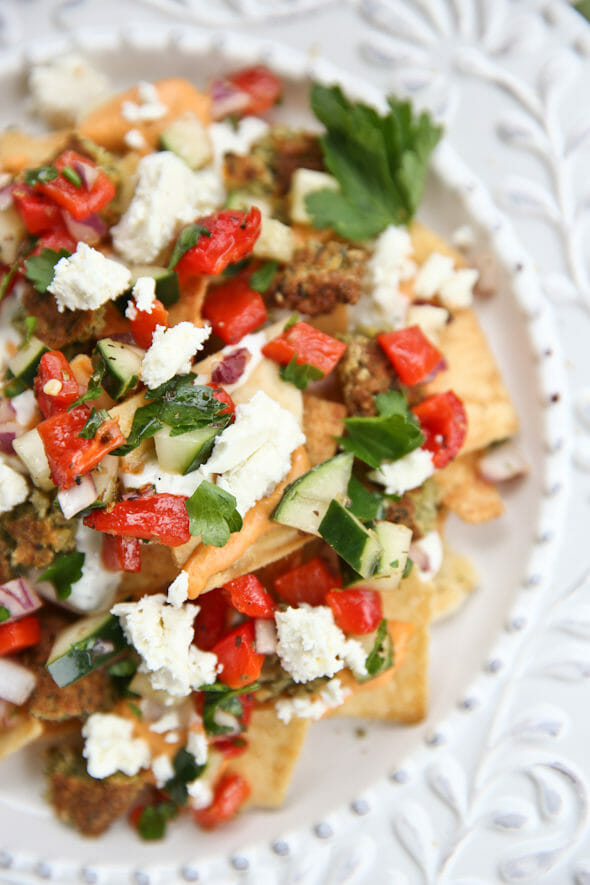 Greek Pita Nachos