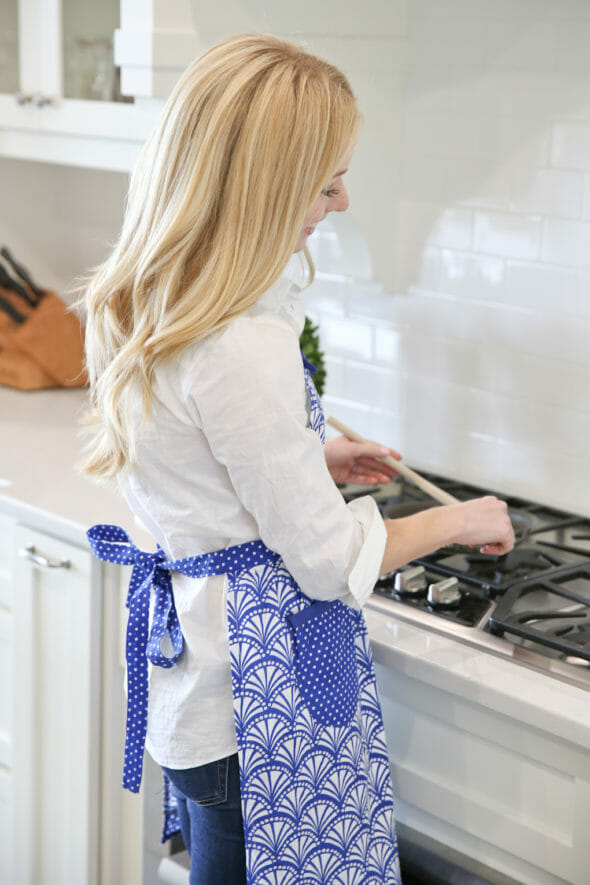 Women's Blue Apron