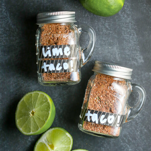 Homemade Bulk Taco Seasoning {3 Varieties!}
