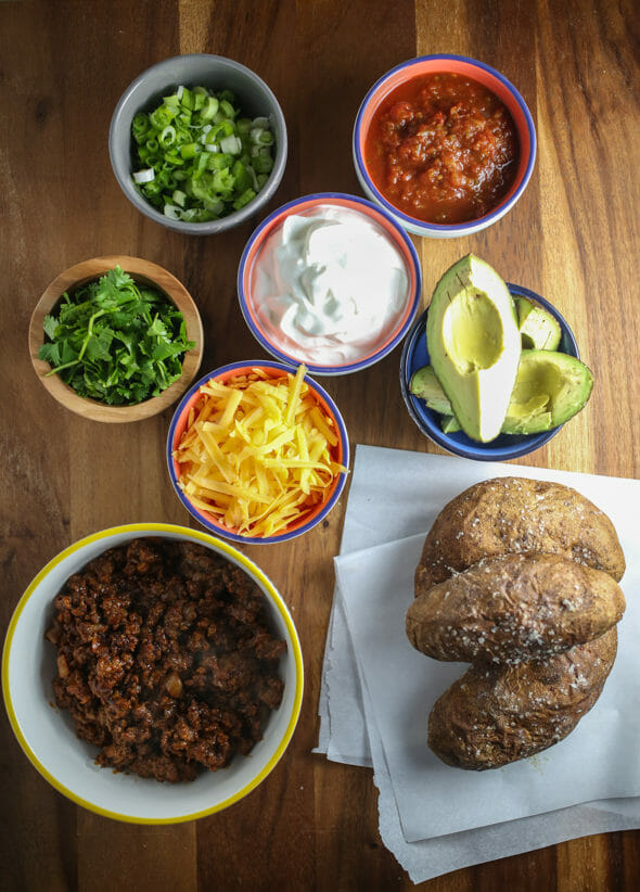 basically, you're going to need whatever you like putting into tacos ...