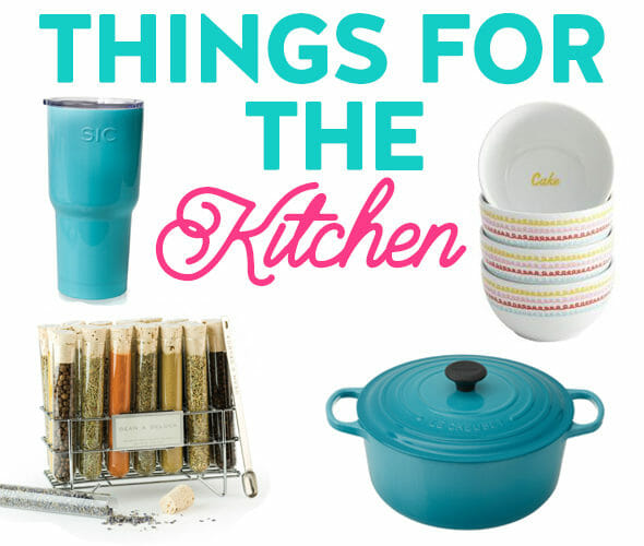 things for the kitchen