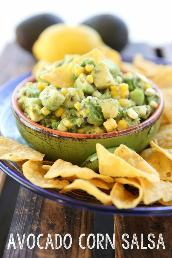 Avocado Corn Salsa from Our Best Bites